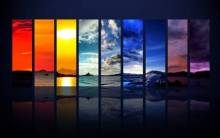 Spectrum of the Sky HDTV 1080p - Full HD Wallpaper