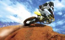 Crazy Motocross Bike - Full HD Wallpaper