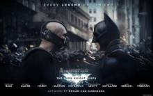 Bane and Batman in The Dark Knight Rises - Full HD Wallpaper