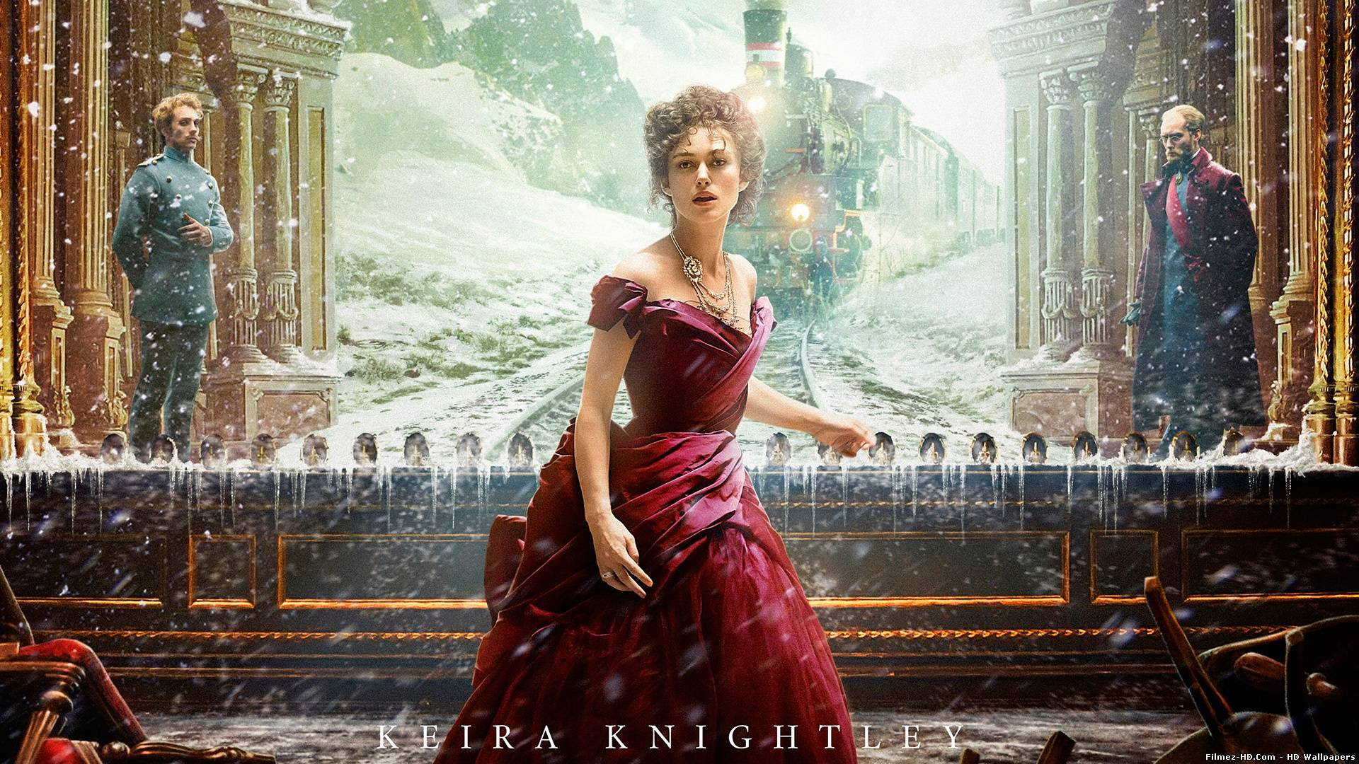 Keira Knightley as Anna Karenina Keira