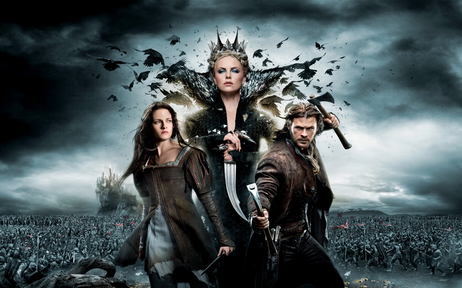 Snow Qhite -The Huntsman