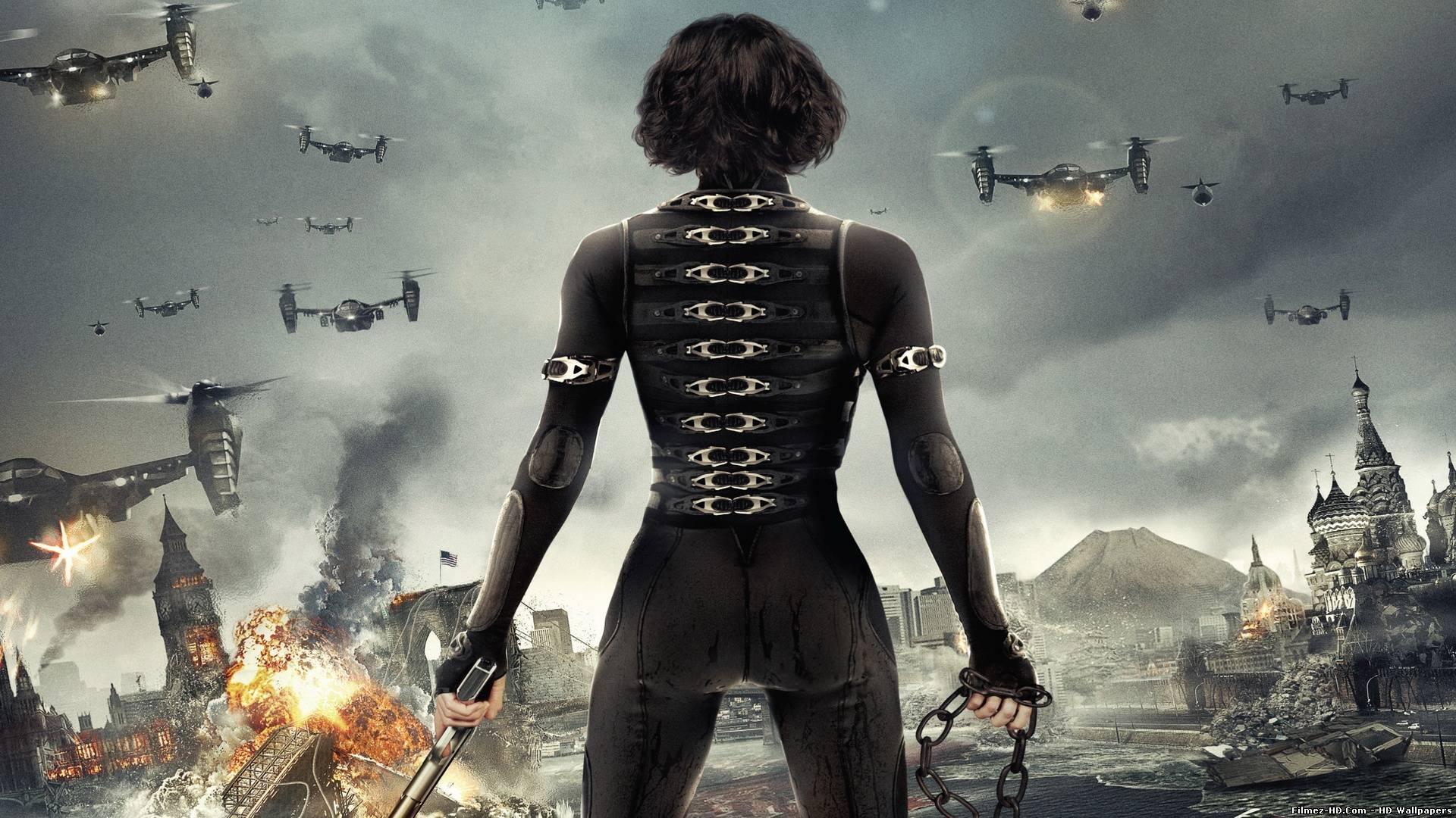Alice in Resident Evil 5 Retribution