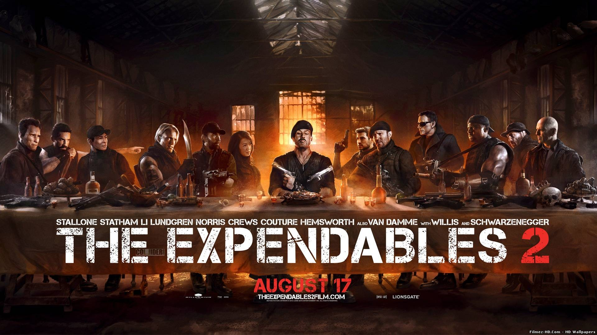 Expendables 2 The Last Supper