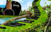 Digital Art - Piano Keys 3D - Full HD Wallpaper