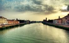 Horizon Italy River - Full HD Wallpaper