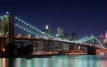 Brooklyn Bridge Panorama - Full HD Wallpaper