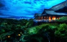 The Treetop Temple Kyoto, Japan - Full HD Wallpaper