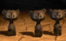 Brave Triplets Bears - Full HD Wallpaper