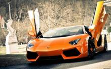 Super Lamborghini Aventador Car - Full HD Wallpaper