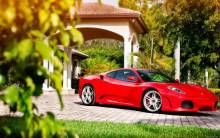 Ferrari F430 ADV1 Wheels - Full HD Wallpaper