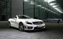 Mercedes Benz SL63 AMG Convertible 2 - Full HD Wallpaper