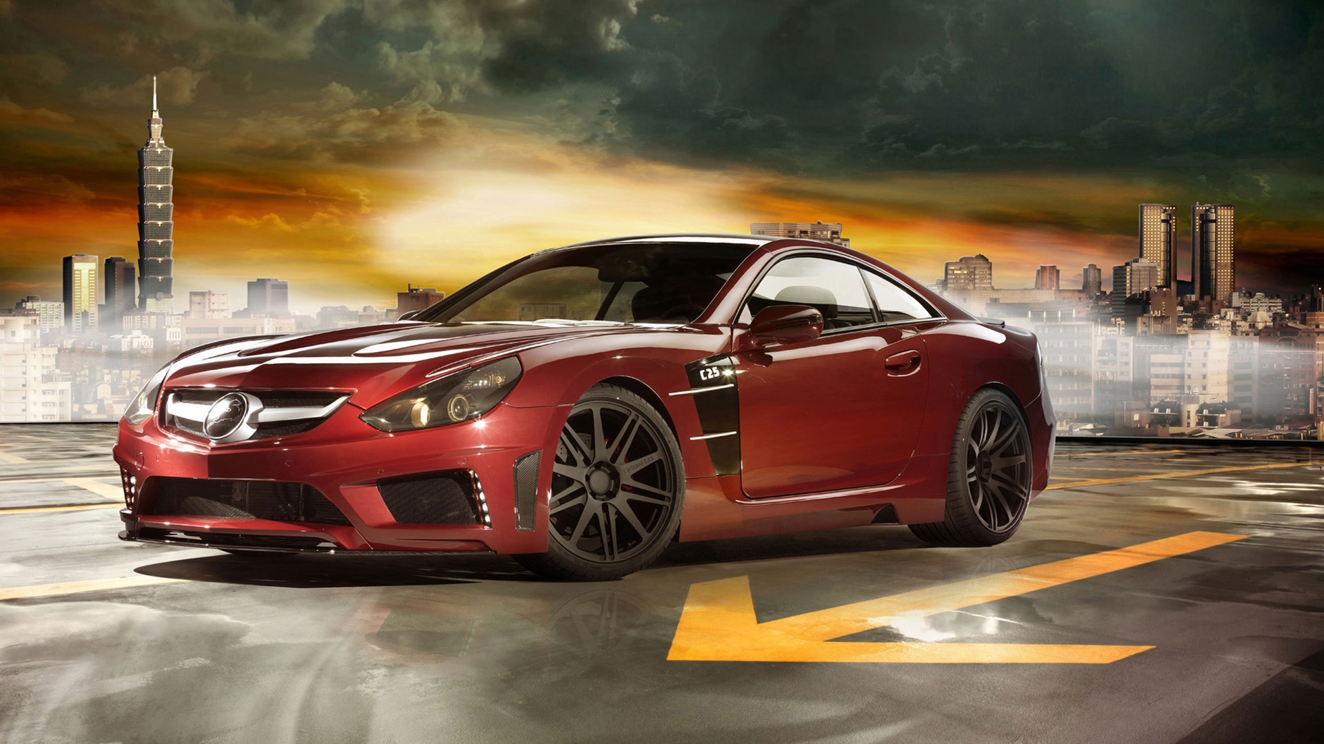 Mercedes Benz Carlsson C25 Super GT