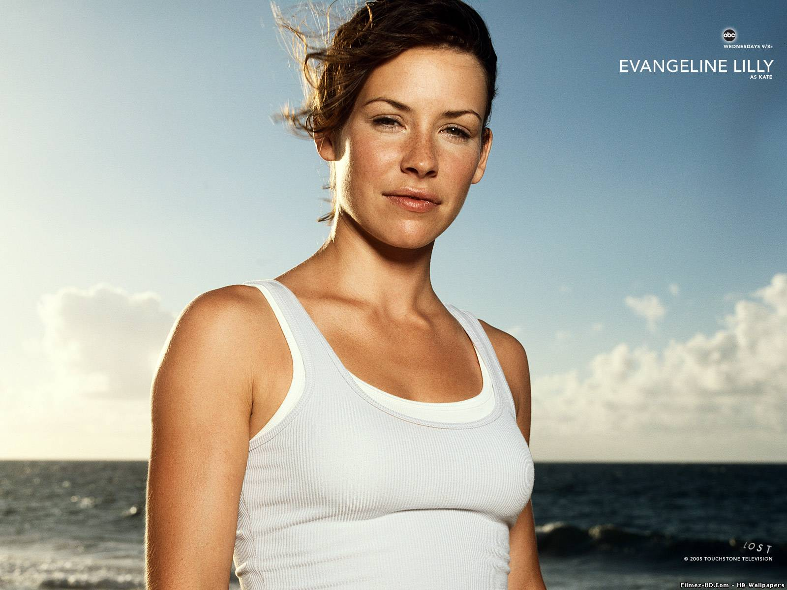 Evangeline Lilly as Kate in Lost